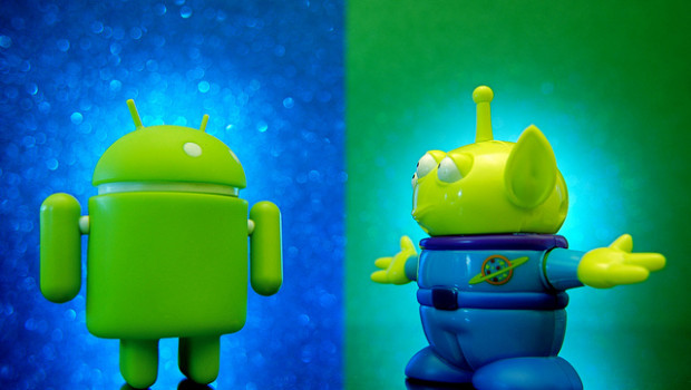 Android vs. Alien
