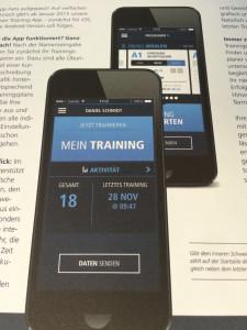 Kieser App im Kieser Kundenmagazin